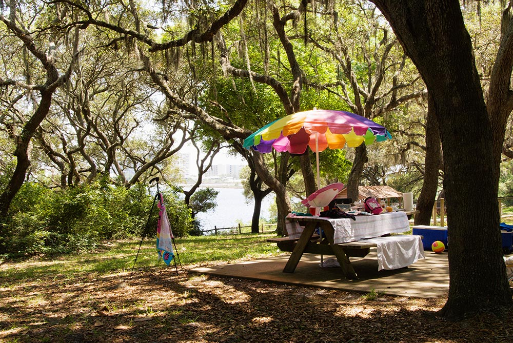 Beat the Heat While Camping site